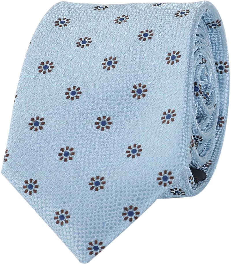 Stropdas Blauwe Bloem  online bestellen | Suitable