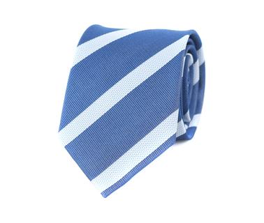 Stropdas Donkerblauw Strepen  online bestellen | Suitable