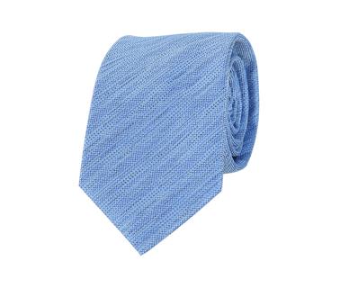 Stropdas Zijde Blauw Motief  online bestellen | Suitable