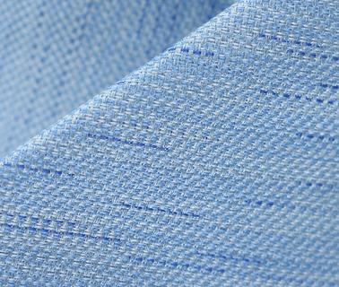Detail Stropdas Zijde Lichtblauw
