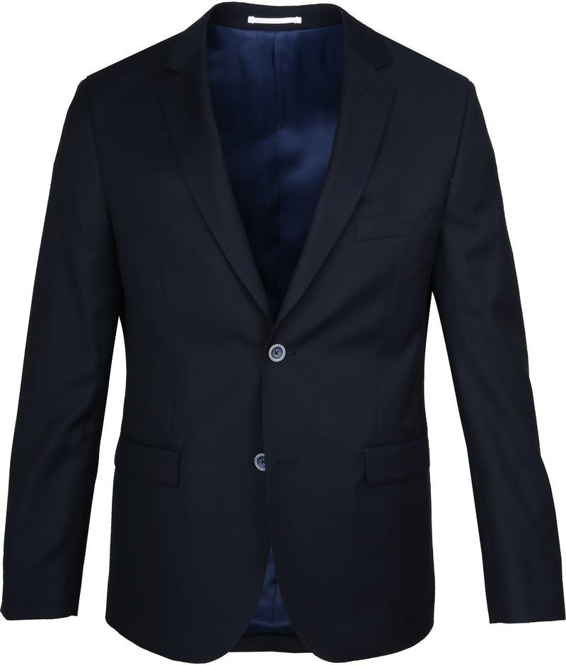 Suitable Anzug Lucius Oxford Dunkelblau Foto 1