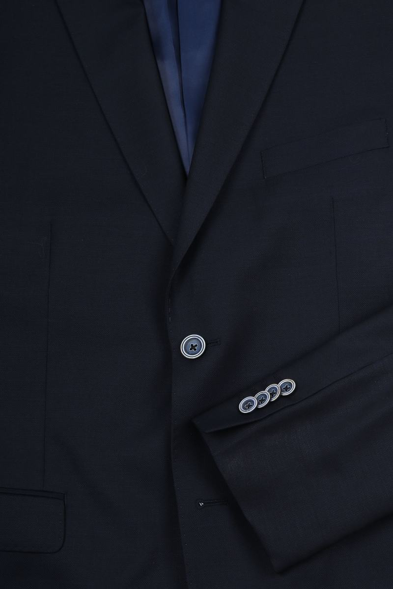 Suitable Anzug Lucius Oxford Dunkelblau Foto 2