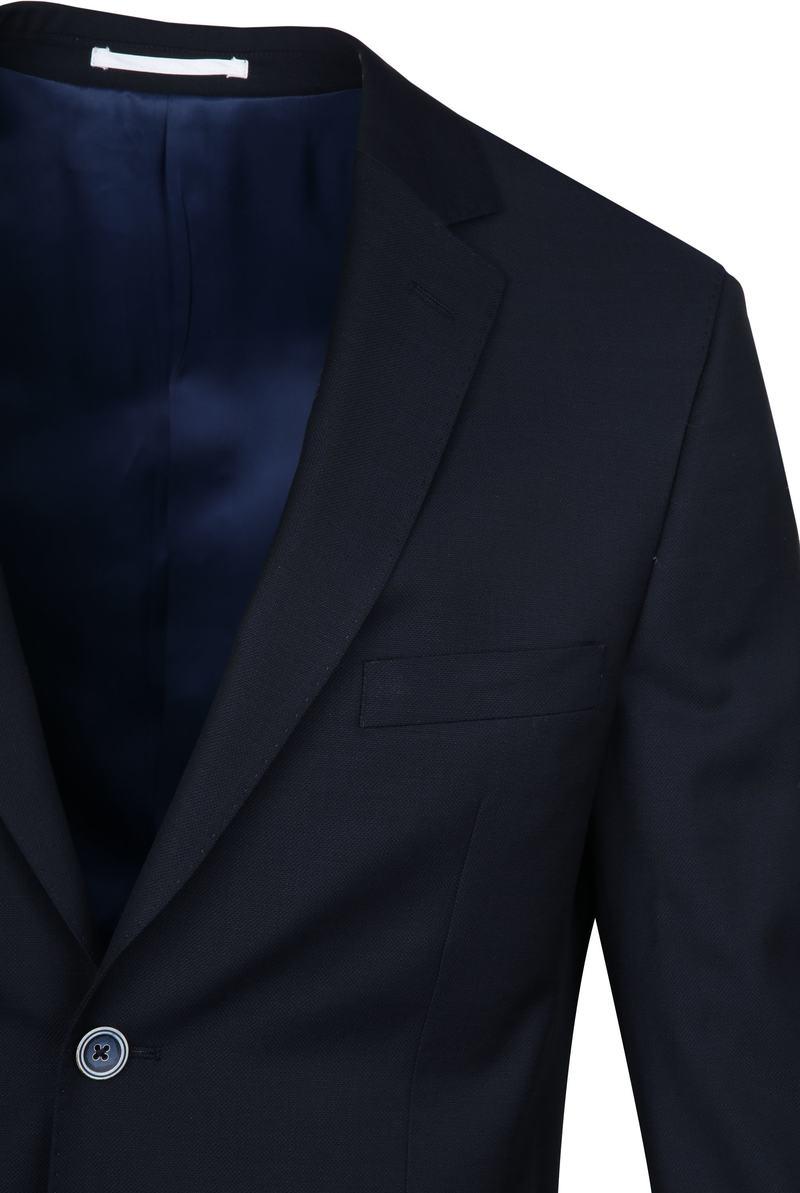 Suitable Anzug Lucius Oxford Dunkelblau Foto 3