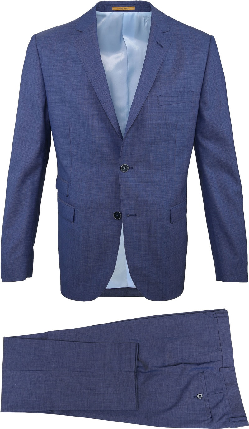 Suitable Anzug Lucius Roys Blau Foto 0