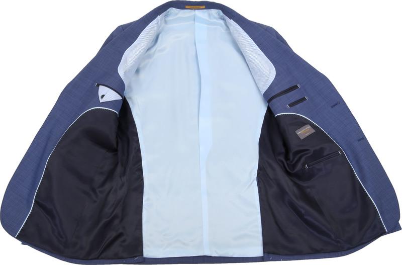 Suitable Anzug Lucius Roys Blau Foto 5