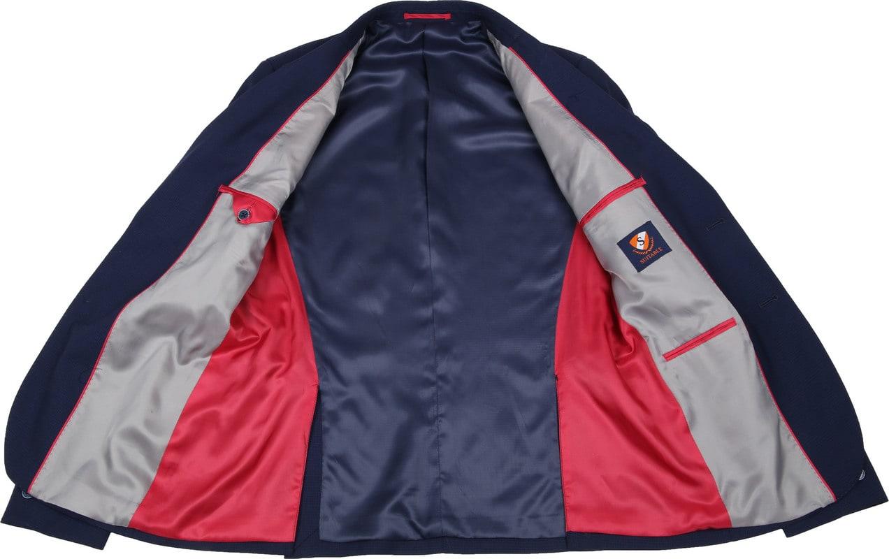 Suitable Anzug Strato Tegea Navy Foto 4
