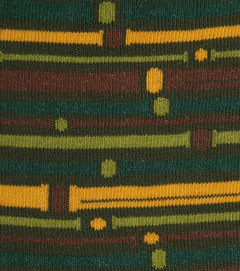 Suitable Bamboe Pattern Sokken Groen