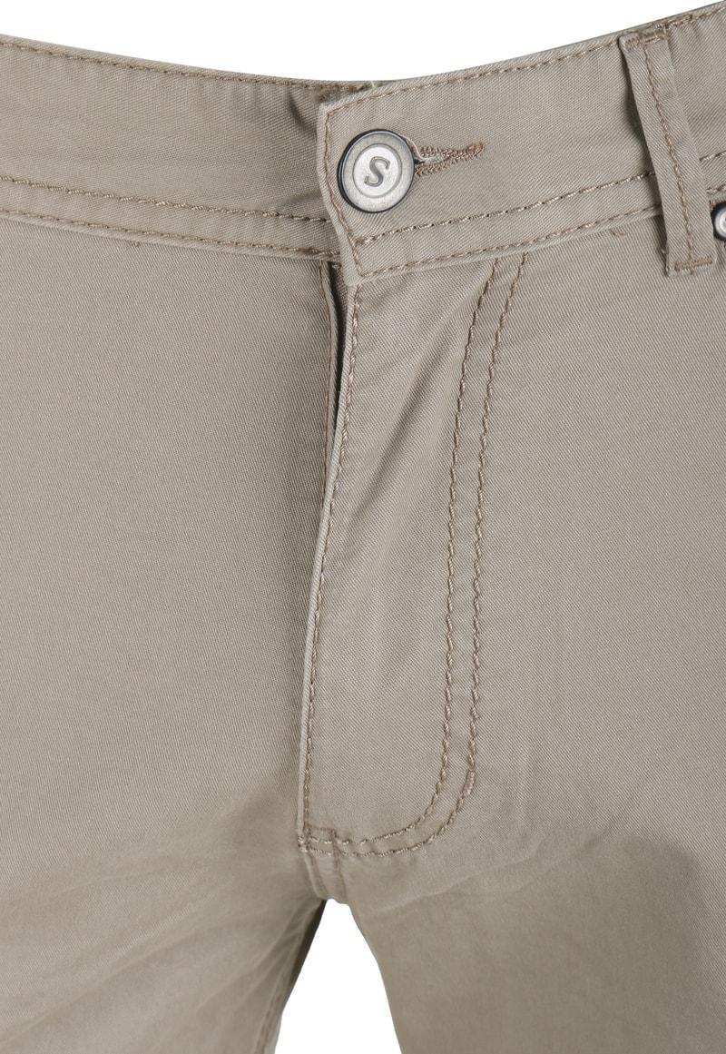 Detail Suitable Barrie Broek Khaki