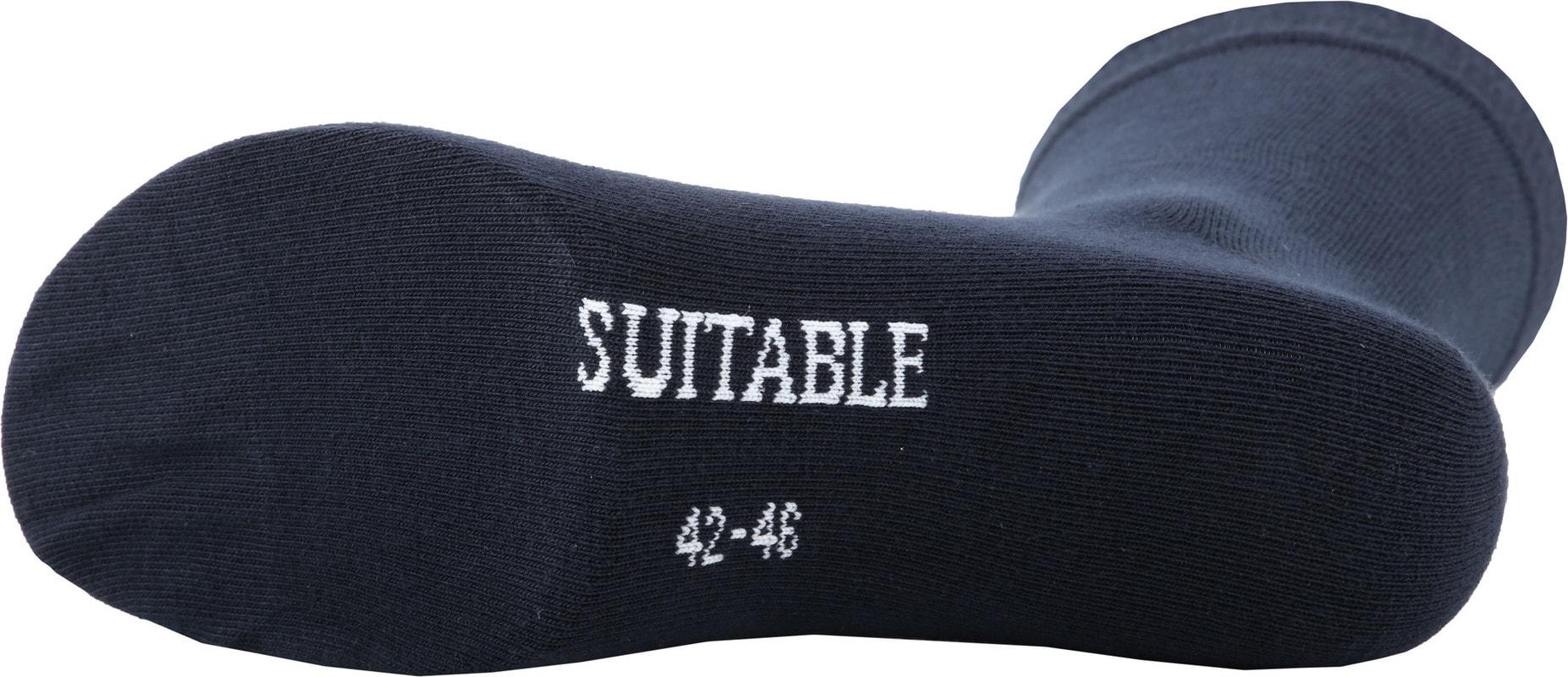 Suitable Bio-Baumwolle Socken Navy 6-Pack Foto 2