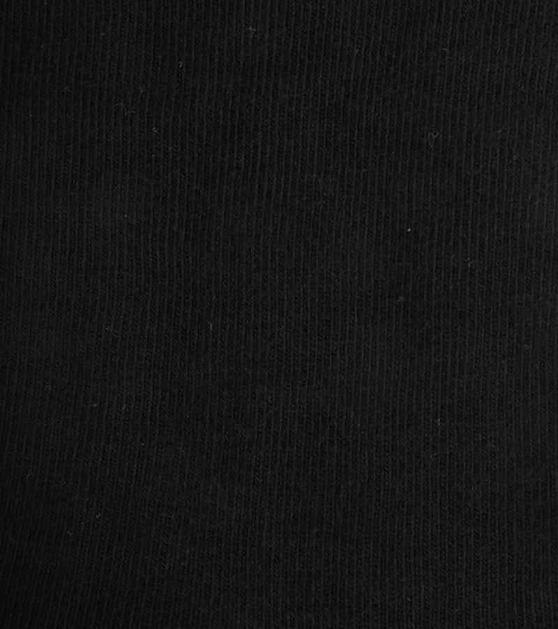 Suitable Bio Katoen Sokken Zwart 6-Pack