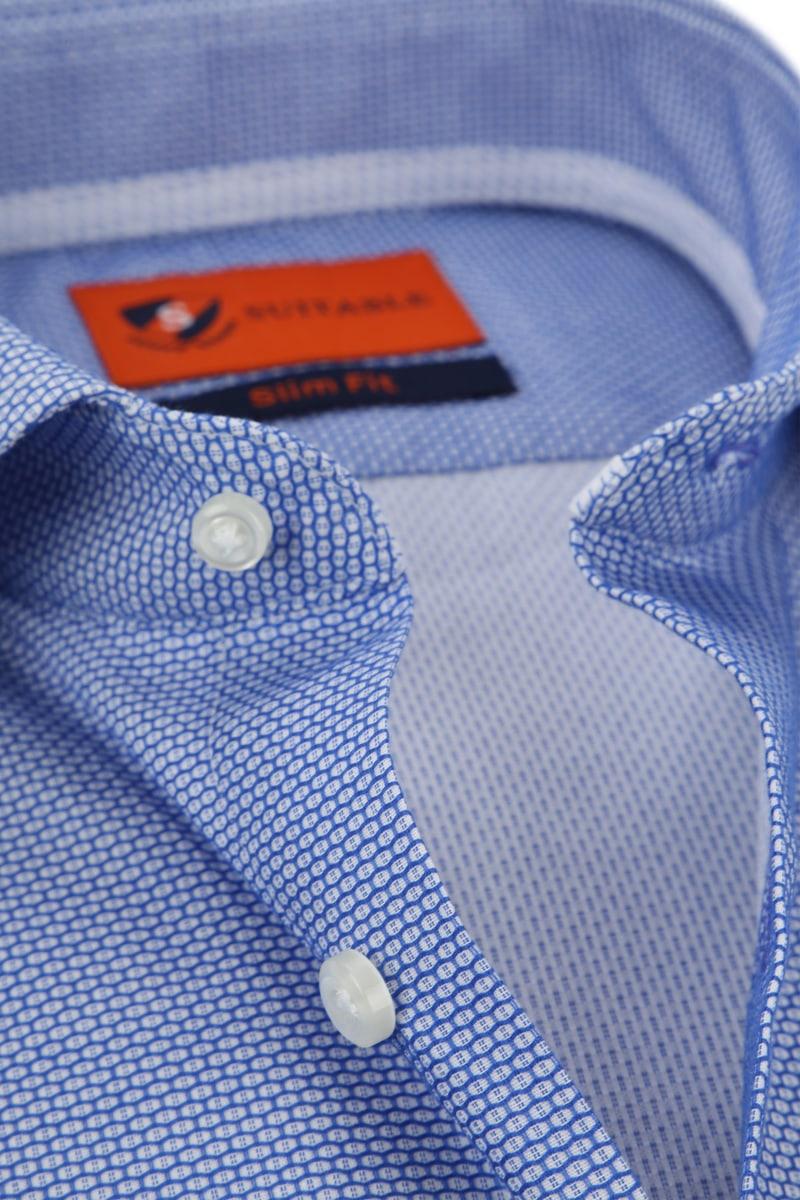 Suitable Blauw Overhemd foto 1