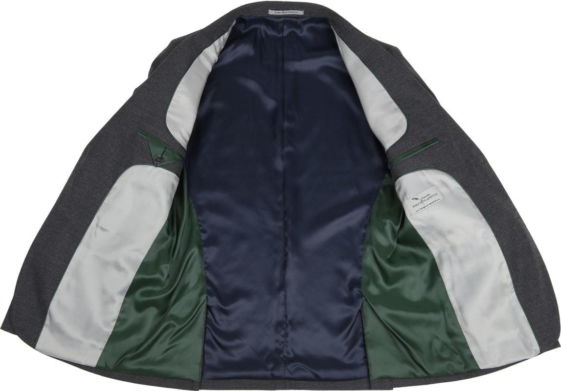 Suitable Blazer Flannel Grijs foto 2