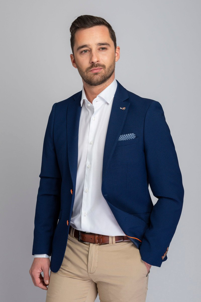 Suitable Blazer Kastri Blauw foto 5