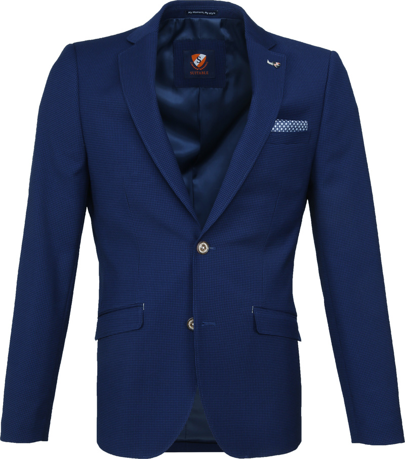 Suitable Blazer Kastri Blauw foto 0