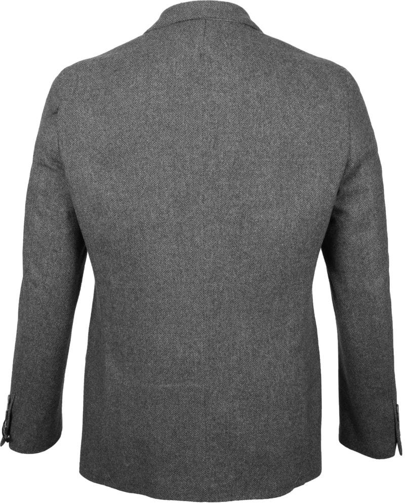 Suitable Blazer Nibe Grau Herringbone Foto 3