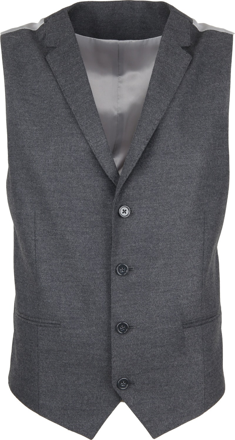 Suitable Blazer & Waistcoat Flanell Grey photo 5