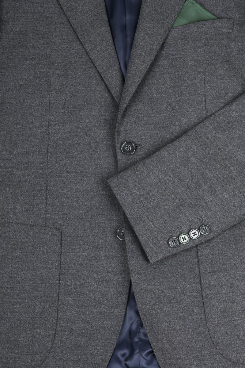 Suitable Blazer & Weste Flanell Grau Foto 1