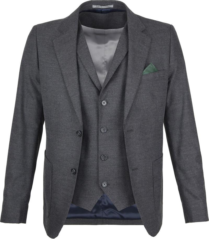 Suitable Blazer & Weste Flanell Grau Foto 0