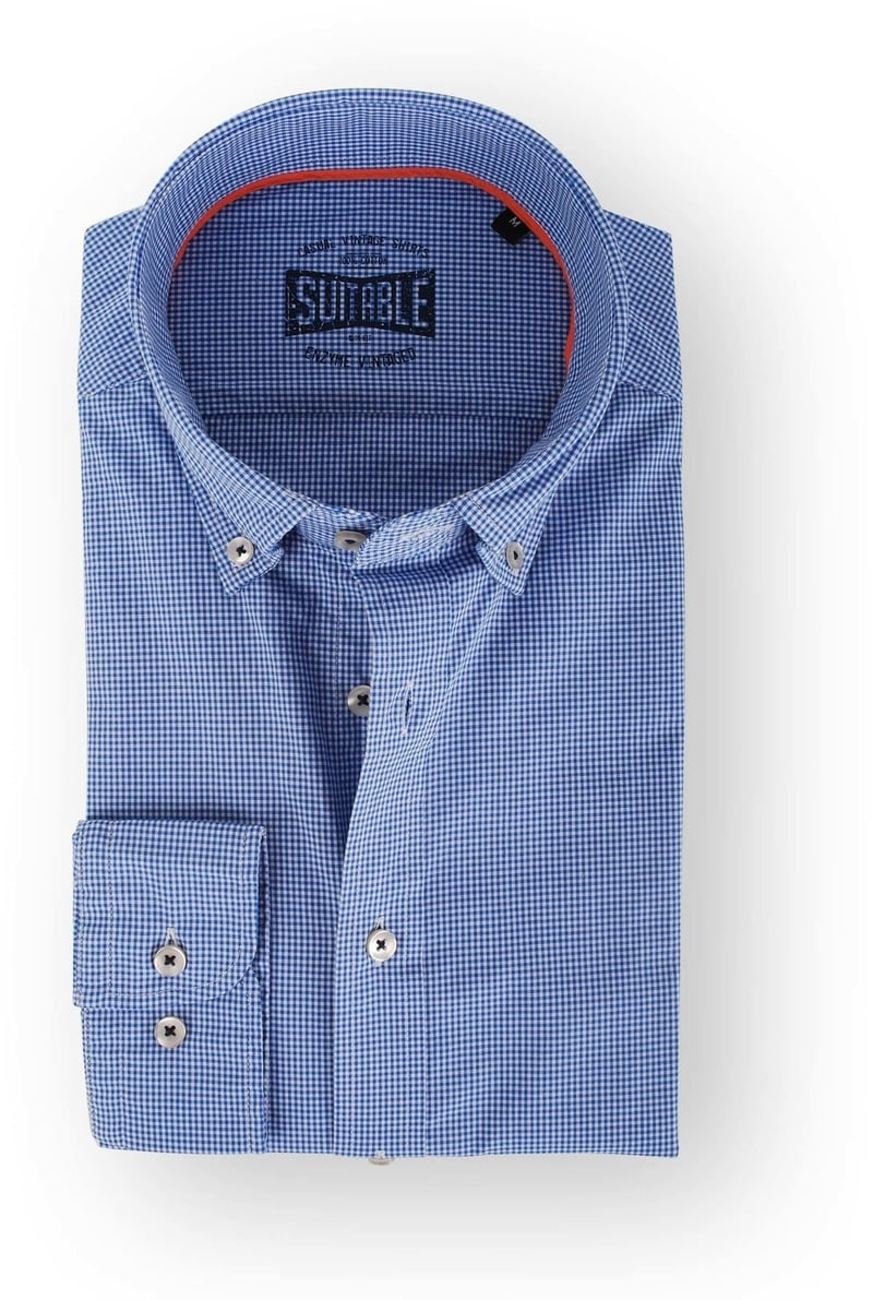 Suitable Blue Shirt Checkered