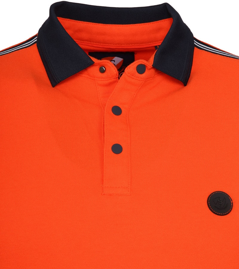 Suitable Branson Poloshirt Stretch Orange Foto 1
