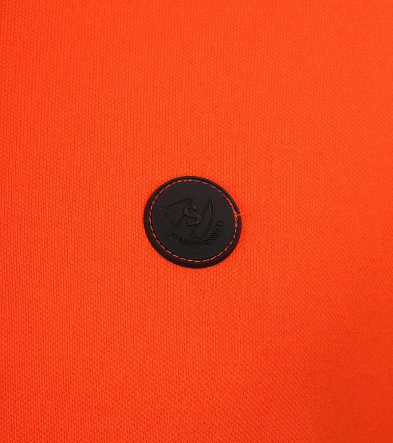 Suitable Branson Poloshirt Stretch Orange Foto 2