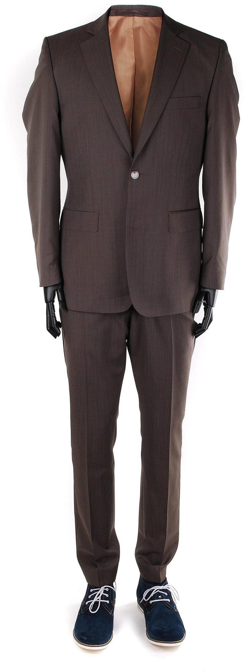 Suitable Braun Anzug Deveania Foto 0