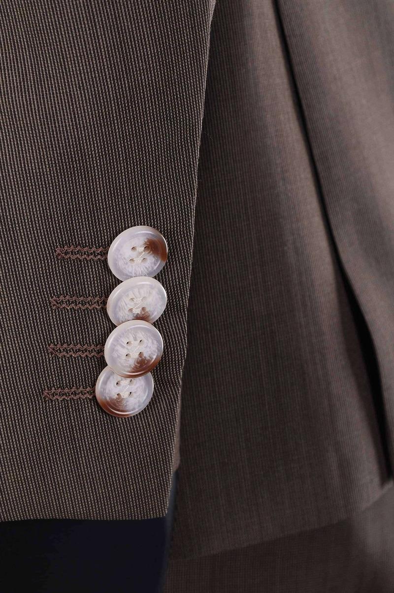 Suitable Braun Anzug Deveania Foto 2