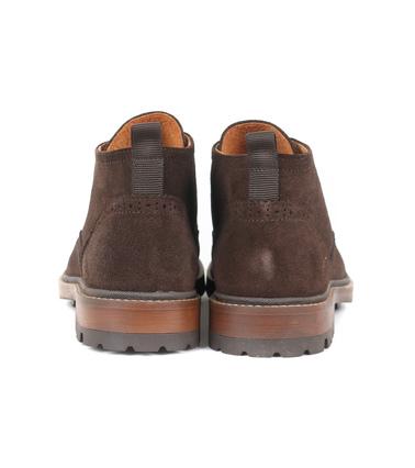 Detail Suitable Brogue Boots Bruin