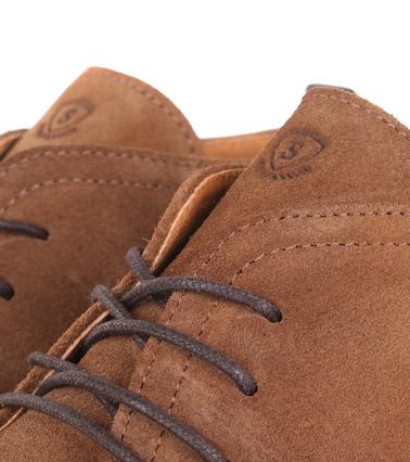 Detail Suitable Brogue Boots Camel