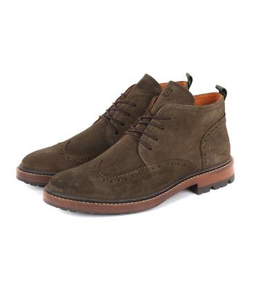 Suitable Brogue Boots Groen  online bestellen | Suitable