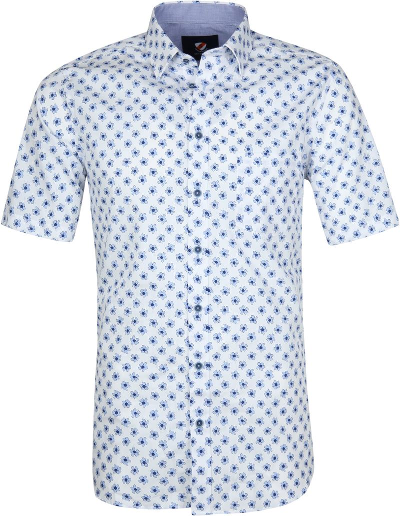 Suitable Cas Shirt Flowers Light Blue photo 0