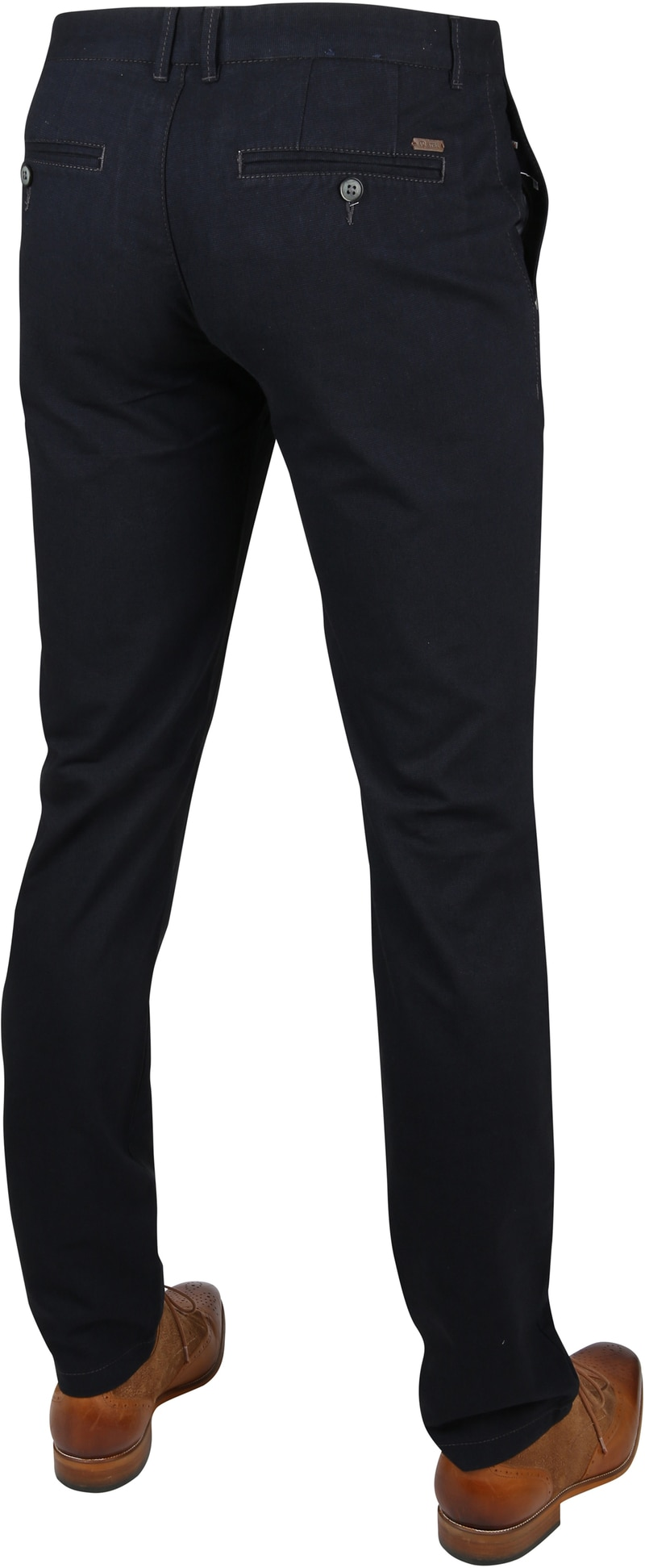 Suitable Chino Dante Dessin Navy foto 2