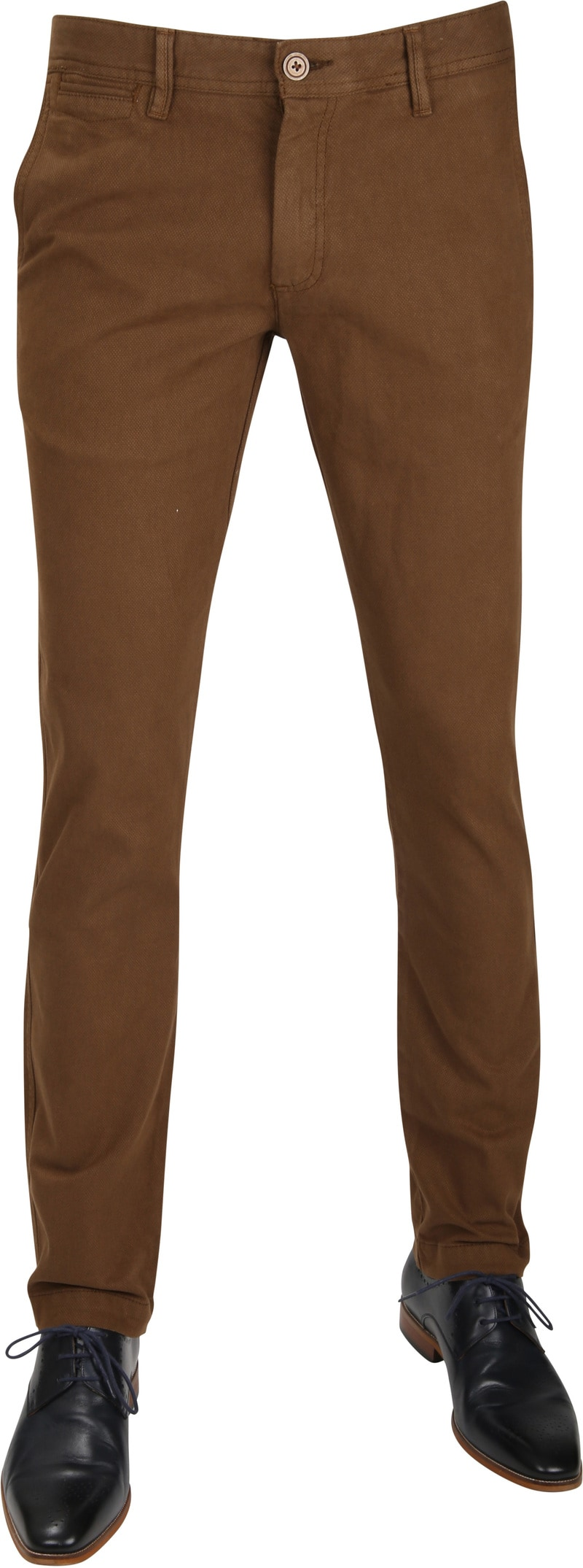 Suitable Chino Oakville Dessin Bruin foto 0
