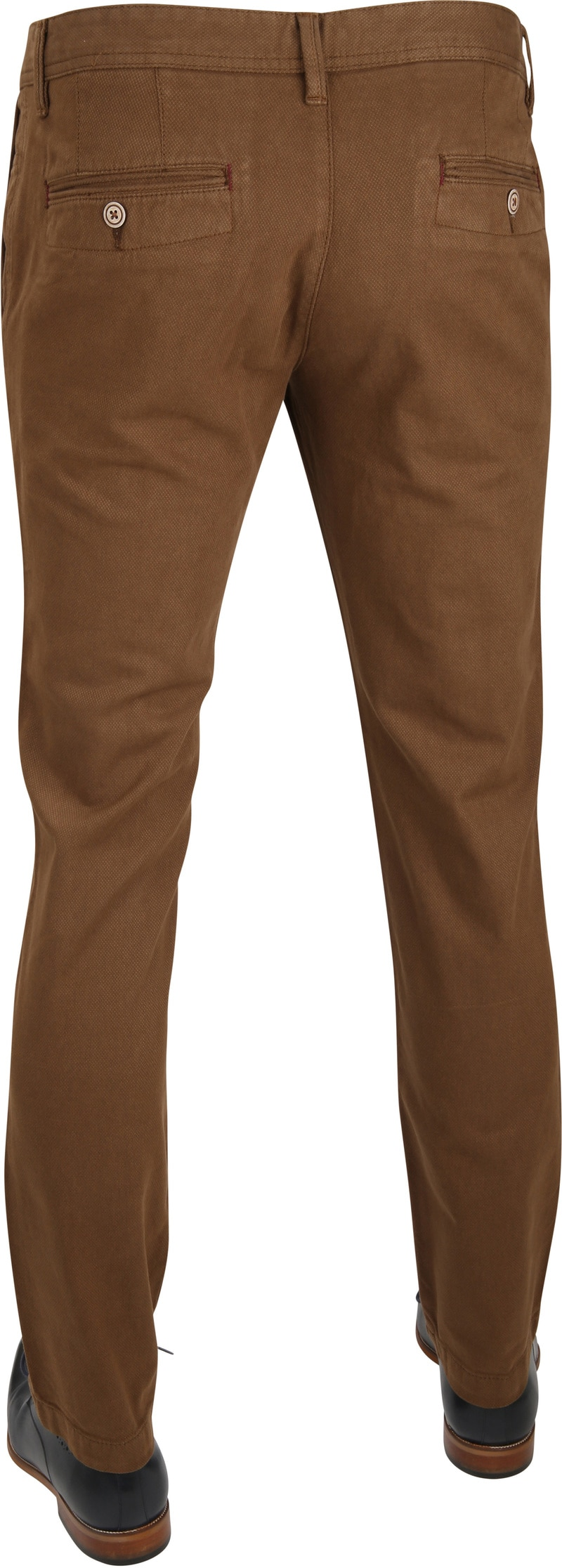 Suitable Chino Oakville Dessin Bruin foto 2