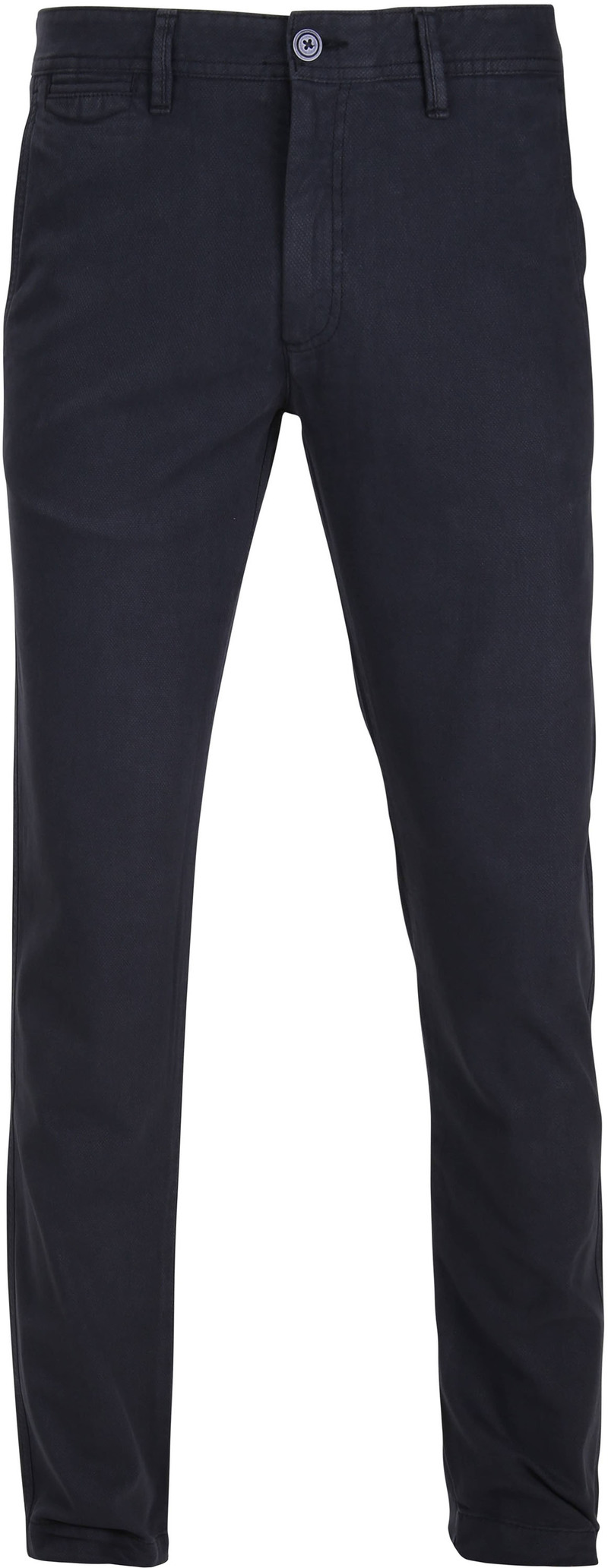 Suitable Chino Oakville Dessin Navy foto 0