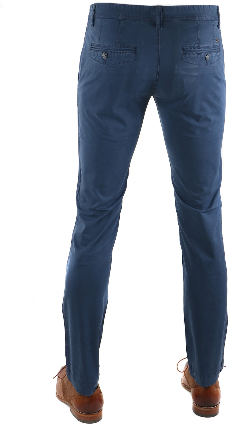 Detail Suitable Chino Oakville Donkerblauw