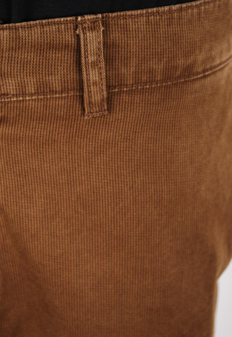 Suitable Chino Striped Camel