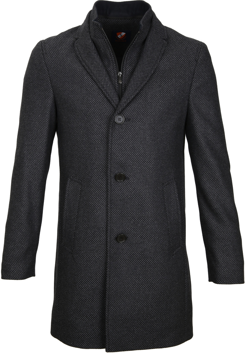 Suitable Coat Hans Diamond Grey foto 0