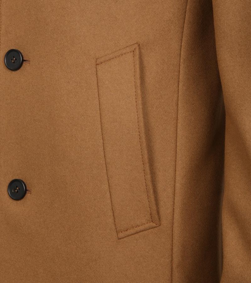 Suitable Coat Hans Melton Camel foto 4