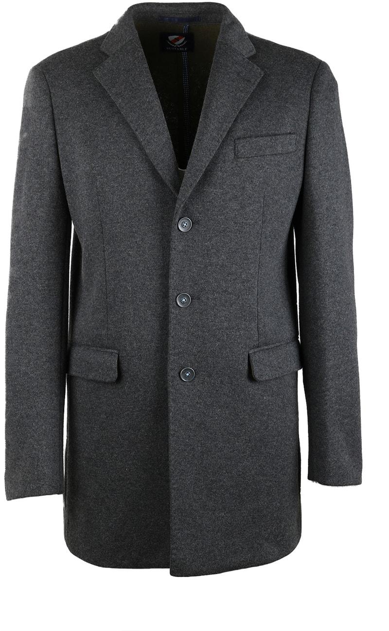 Suitable Coat Hendrik Antraciet foto 0