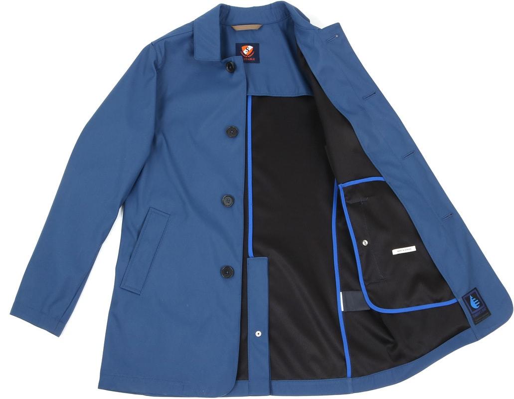 Suitable Coat Richard Indigo foto 5