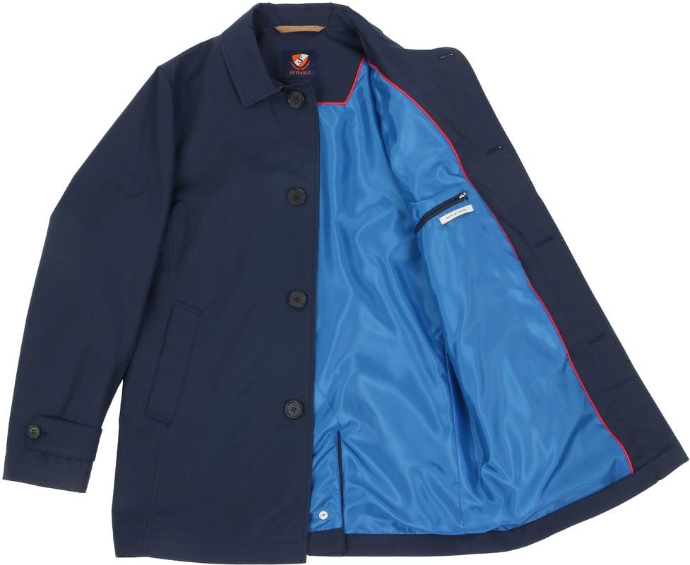 Suitable Coat Rosewood Navy foto 6