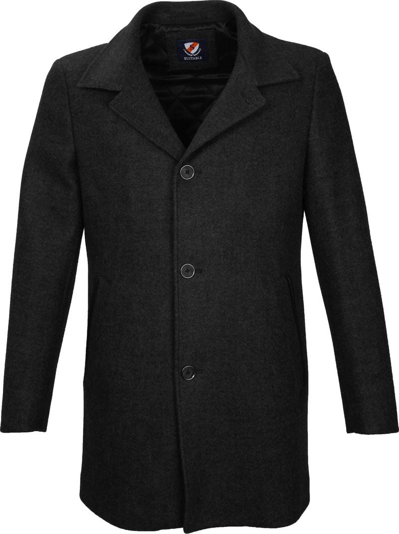 Suitable Coat Soest Antraciet foto 1