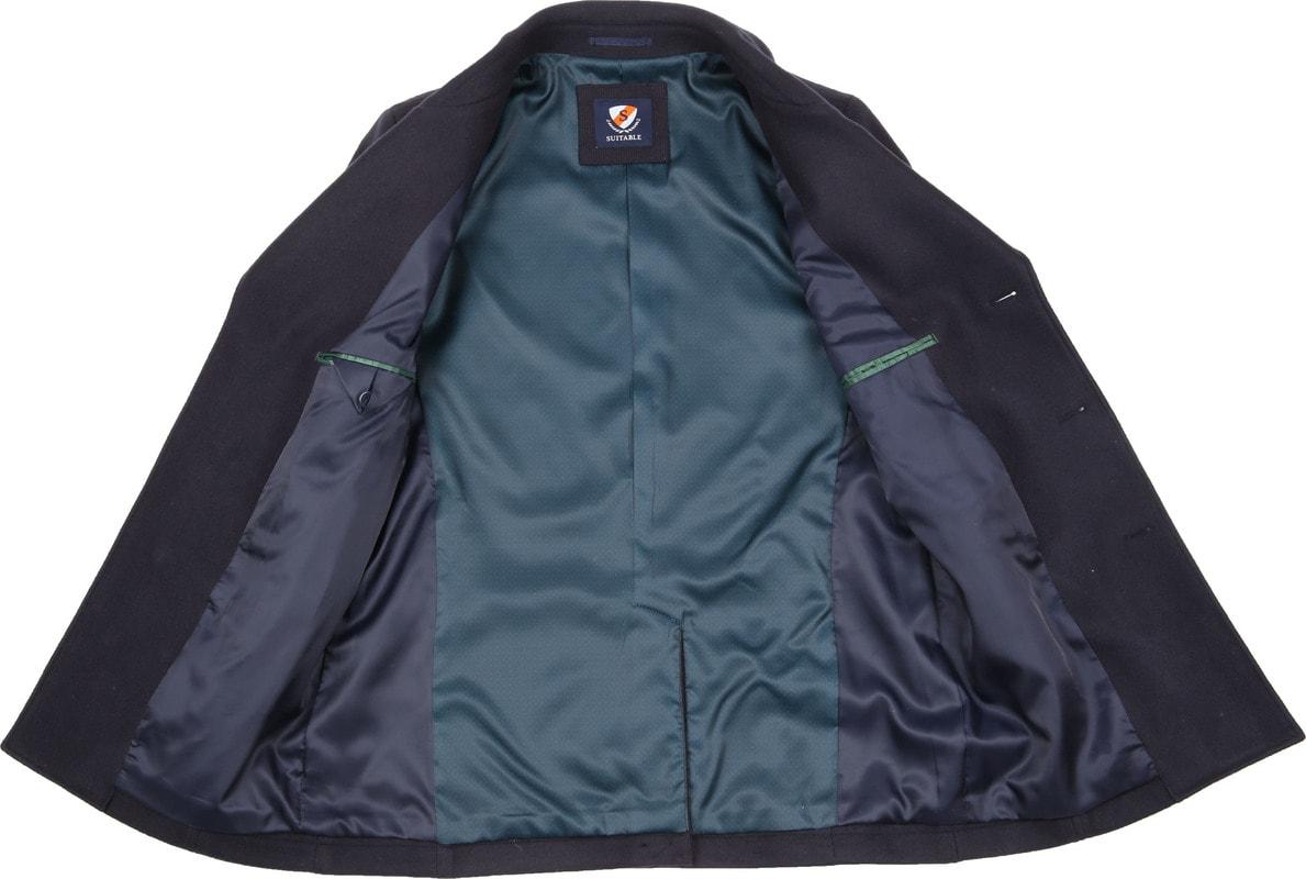 Suitable Coat Spaarne Dunkelblau Foto 4