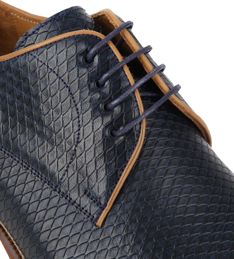 Suitable Dress Shoes Derby Print Navy photo 1