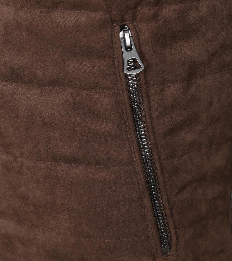 Suitable Ethan Passet Jas Bruin - Bruin maat XL