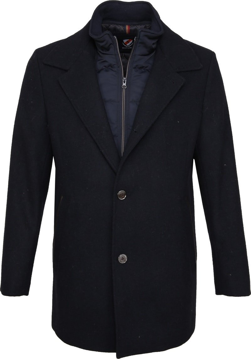 Suitable Geke Coat Navy photo 0