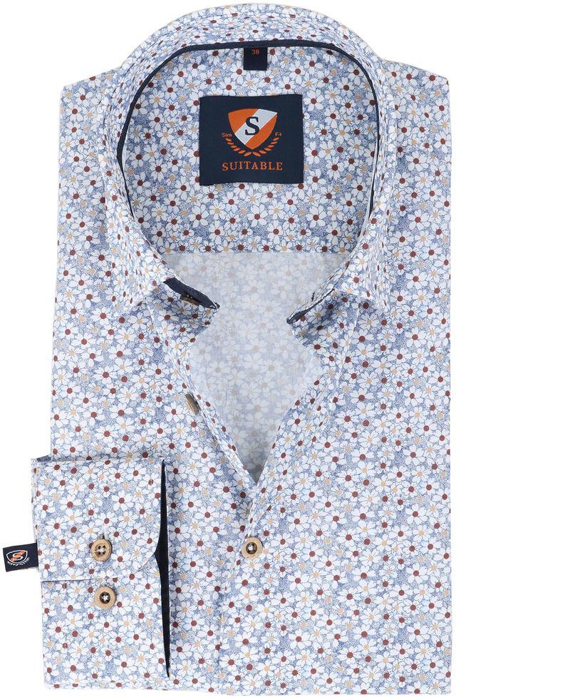 Suitable Hemd Blaue Blume  online kaufen | Suitable