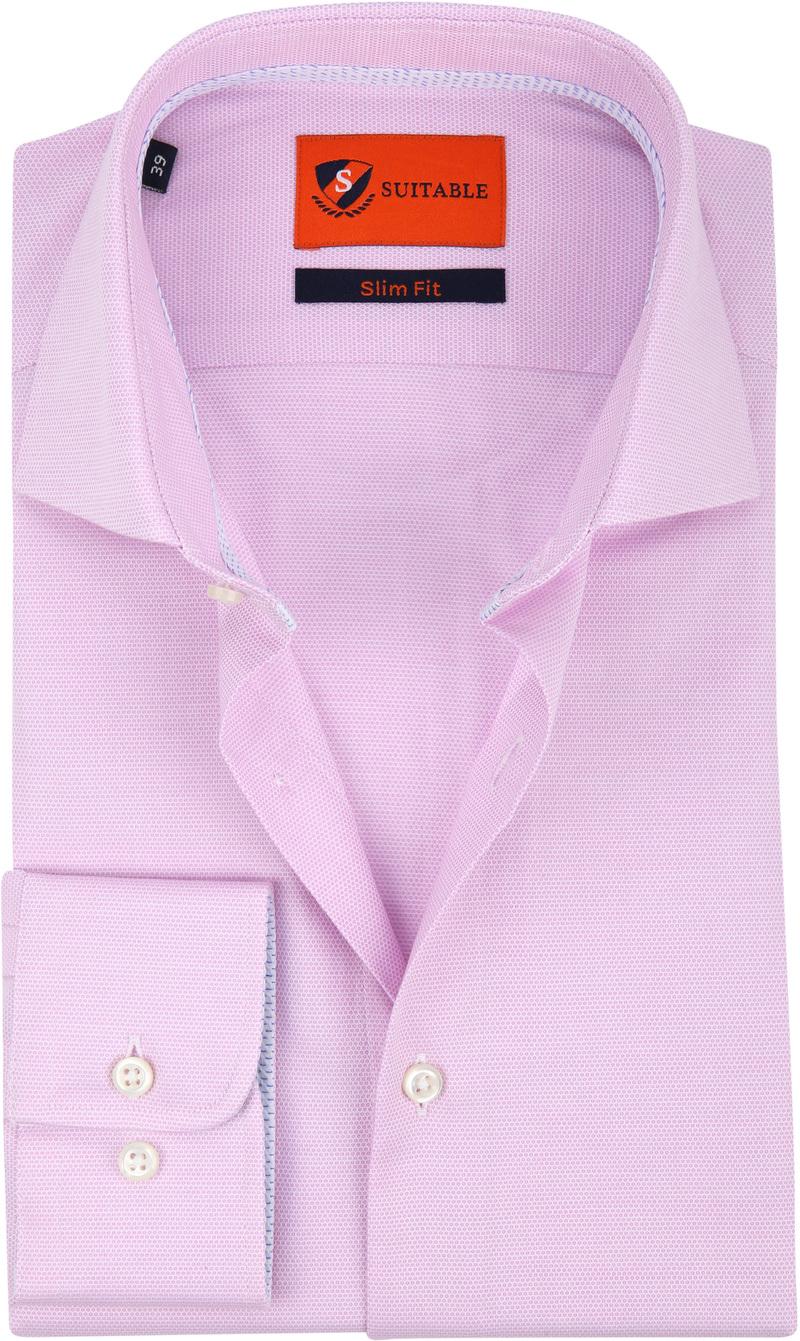 Suitable Hemd Pink Wesley Foto 0