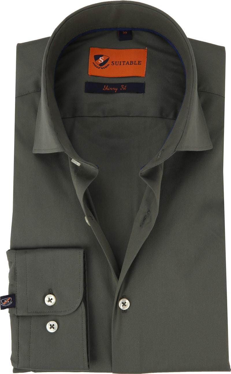 Suitable Hemd Uni Army 196 4 Skinny Fit online kaufen | Suitable
